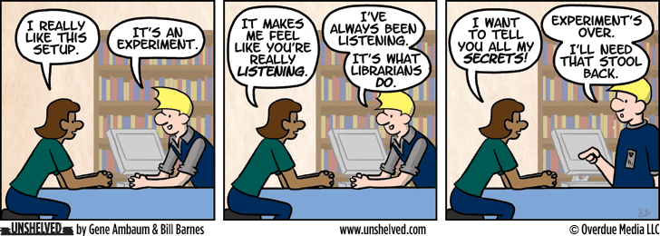 Unshelved comic strip for 12/4/2013