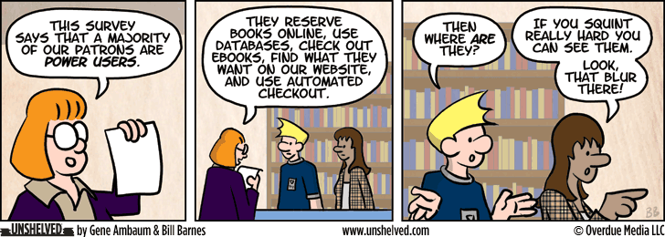 Unshelved strip for 12/9/2013