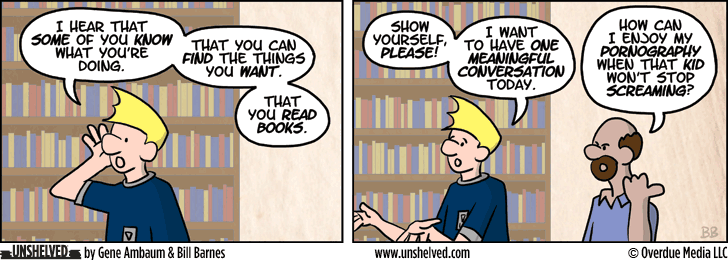 Unshelved strip for 12/10/2013