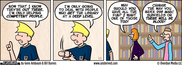 Unshelved comic strip for 12/12/2013