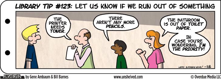Unshelved comic strip for 12/16/2013