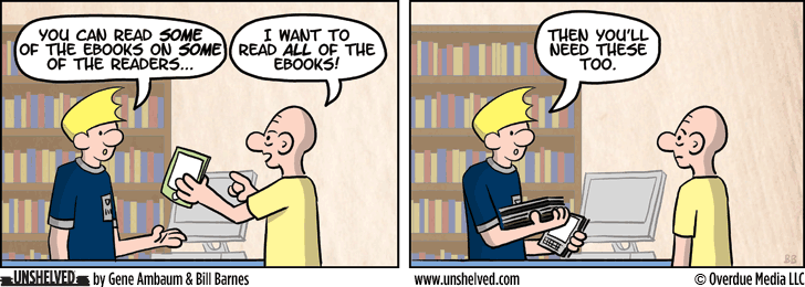 Unshelved comic strip for 12/18/2013