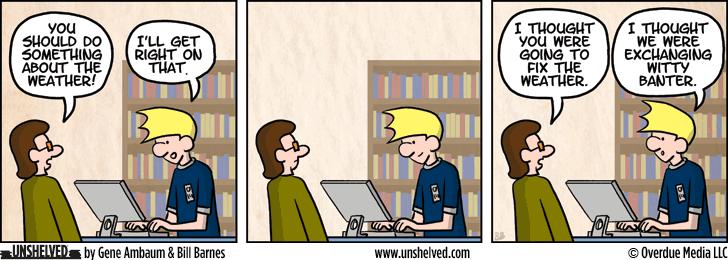 Unshelved comic strip for 12/19/2013