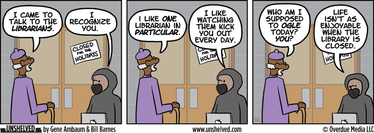 Unshelved comic strip for 12/26/2013
