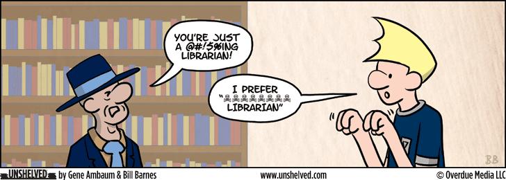 Unshelved comic strip for 1/6/2014