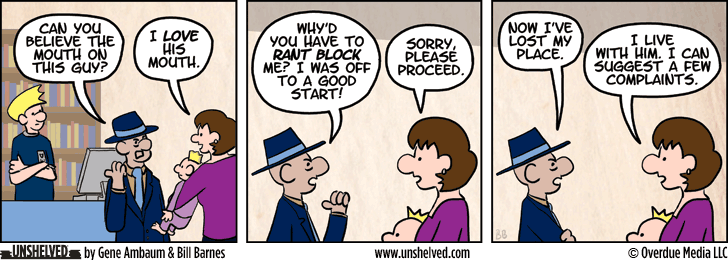 Unshelved strip for 1/7/2014
