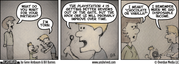 Unshelved comic strip for 1/13/2014