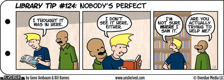 Unshelved comic strip for 1/16/2014
