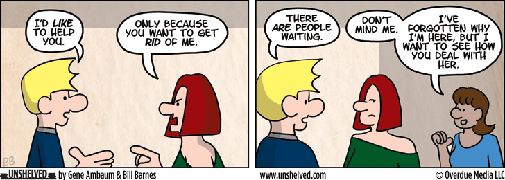 Unshelved comic strip for 1/22/2014