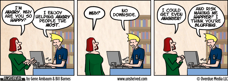 Unshelved comic strip for 1/23/2014