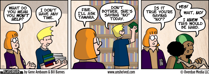 Unshelved comic strip for 1/27/2014