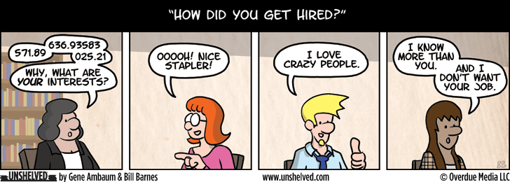 Unshelved comic strip for 2/5/2014