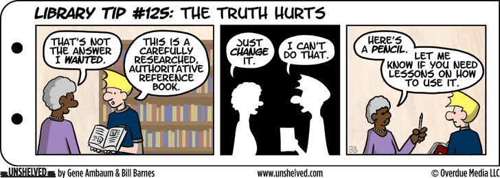Unshelved comic strip for 2/6/2014