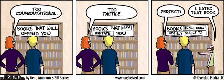 Unshelved comic strip for 2/10/2014