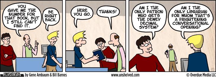 Unshelved comic strip for 2/17/2014
