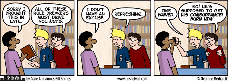 Unshelved strip for 2/18/2014