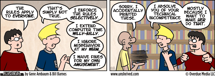 Unshelved comic strip for 2/19/2014