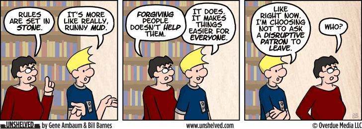 Unshelved comic strip for 2/20/2014