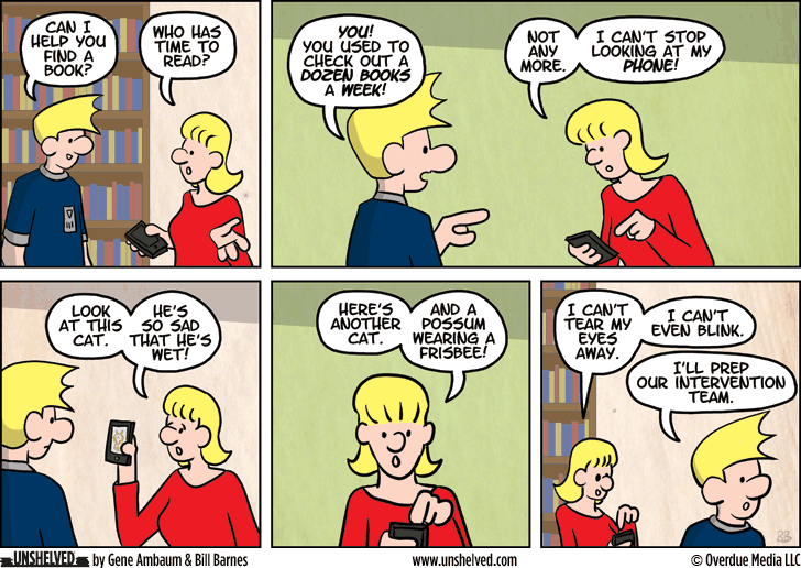 Unshelved comic strip for 2/26/2014