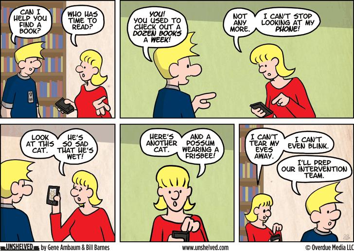 Unshelved comic strip for 2/26/2014