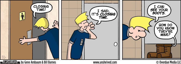 Unshelved strip for 3/3/2014