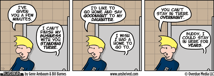 Unshelved strip for 3/4/2014