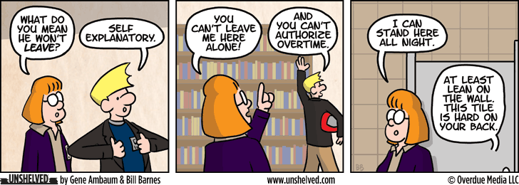 Unshelved comic strip for 3/6/2014