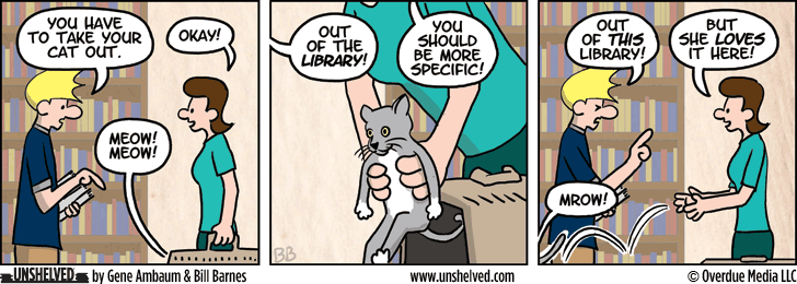 Unshelved comic strip for 3/18/2014