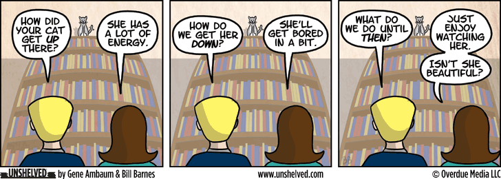 Unshelved comic strip for 3/19/2014