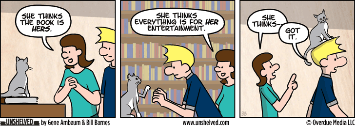 Unshelved comic strip for 3/20/2014
