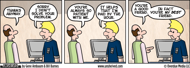Unshelved comic strip for 3/24/2014