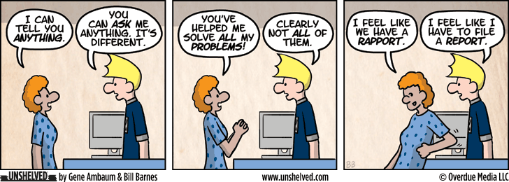 Unshelved comic strip for 3/25/2014