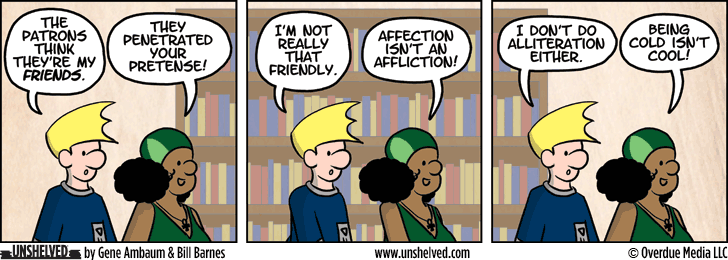 Unshelved comic strip for 3/26/2014