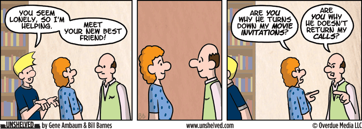 Unshelved comic strip for 3/27/2014