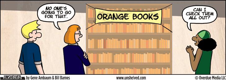Unshelved comic strip for 3/31/2014