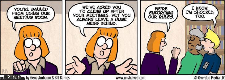 Unshelved strip for 4/15/2014