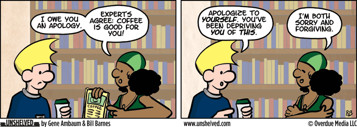 Unshelved comic strip for 4/28/2014