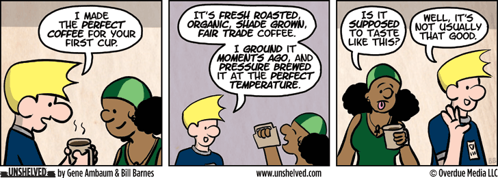Unshelved strip for 4/29/2014