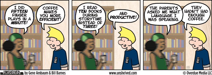 Unshelved strip for 4/30/2014