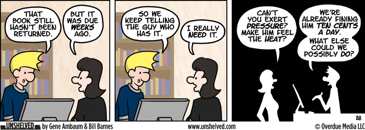 Unshelved comic strip for 5/5/2014