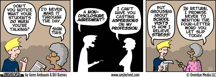 Unshelved comic strip for 5/14/2014
