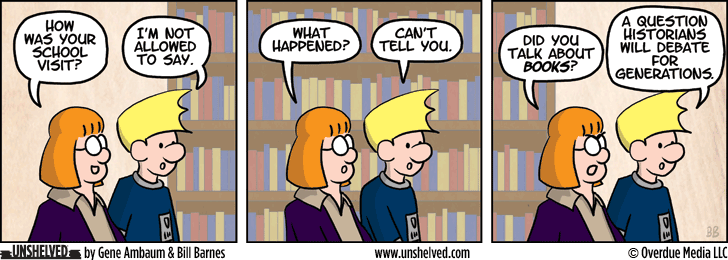 Unshelved comic strip for 5/15/2014