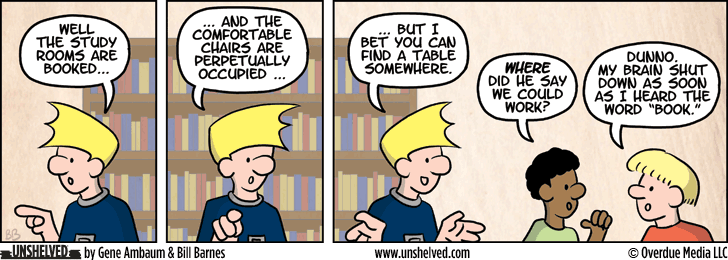 Unshelved comic strip for 5/20/2014
