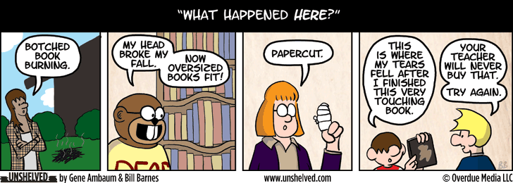 Unshelved comic strip for 5/21/2014