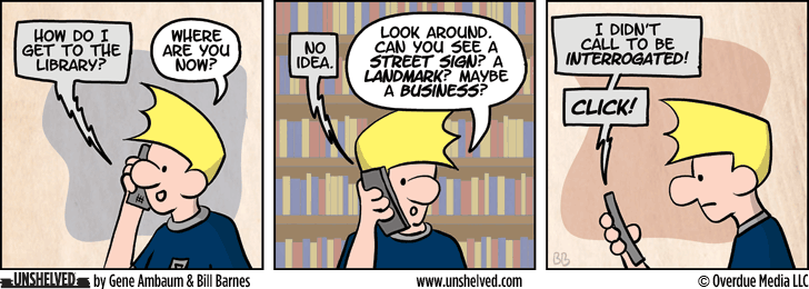 Unshelved comic strip for 5/22/2014