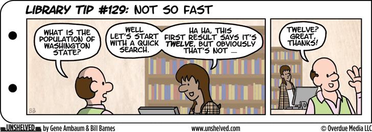 Unshelved comic strip for 5/27/2014