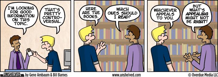 Unshelved comic strip for 6/2/2014