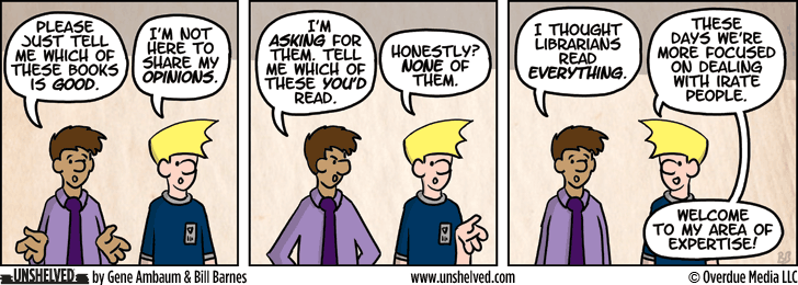 Unshelved comic strip for 6/4/2014