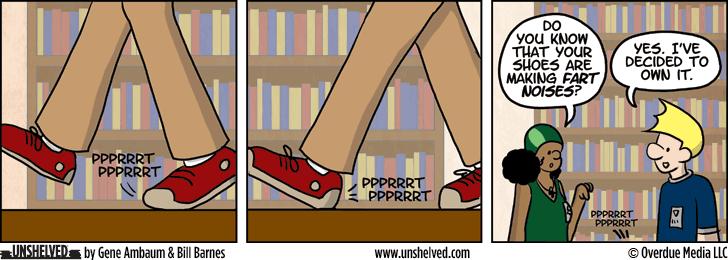 Unshelved comic strip for 6/9/2014