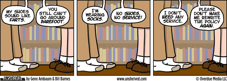 Unshelved comic strip for 6/10/2014